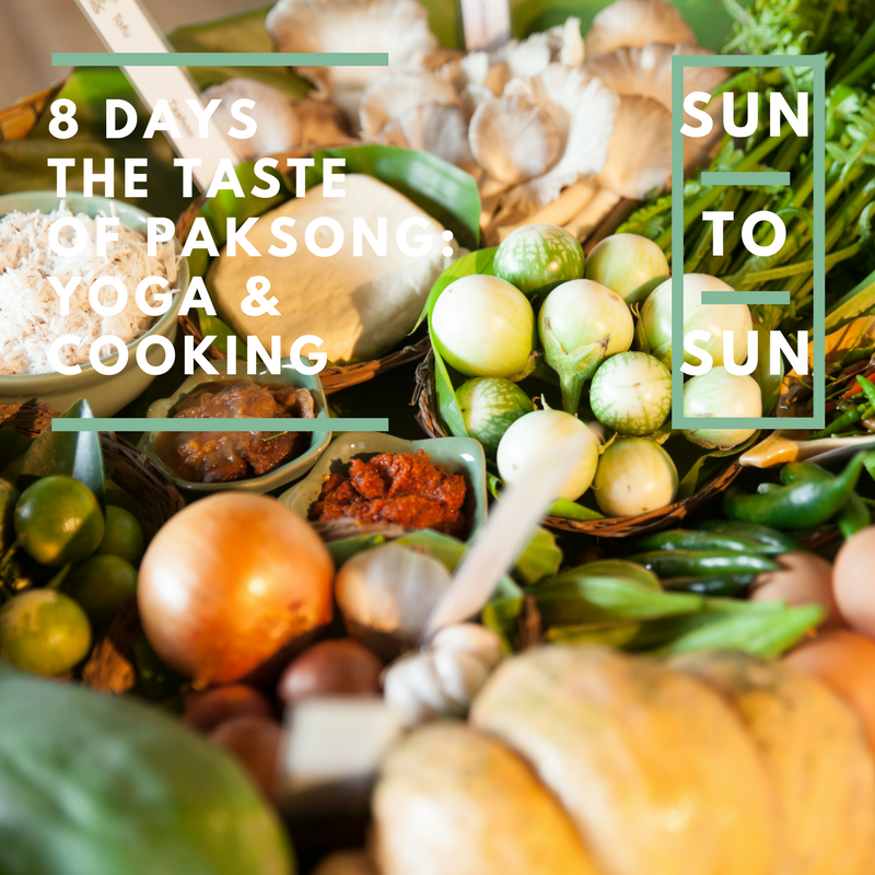 Yoga & the taste of Thailand: 8 days yoga&cooking in the jungle of Paksong