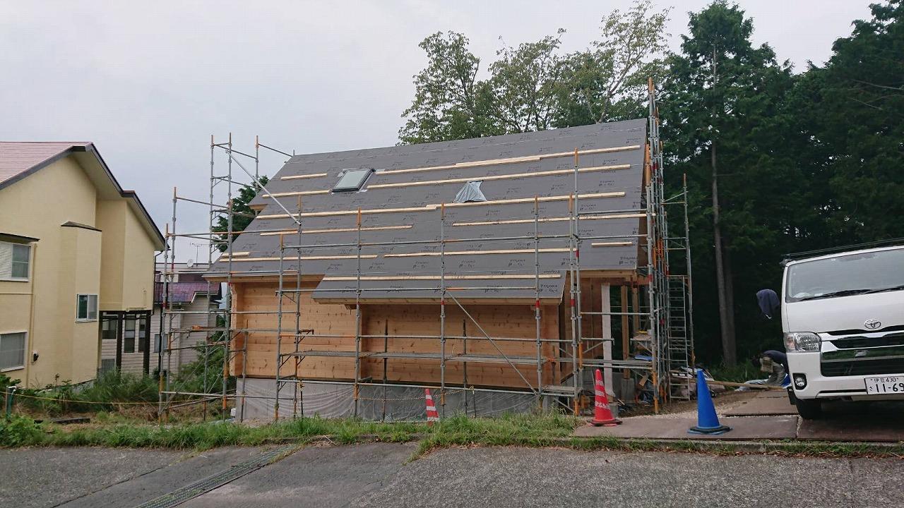 モデルハウス 建築工事