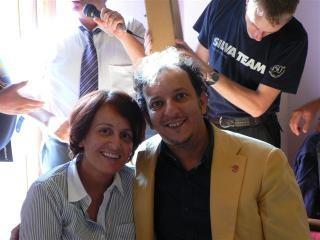 Con mia moglie Elena al Meeting D.C.I. 2011