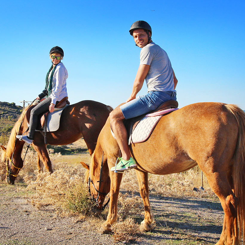 Horseriding in Molyvos | 10 Places You Must Visit In Lesvos Island Greece | via @Just1WayTicket