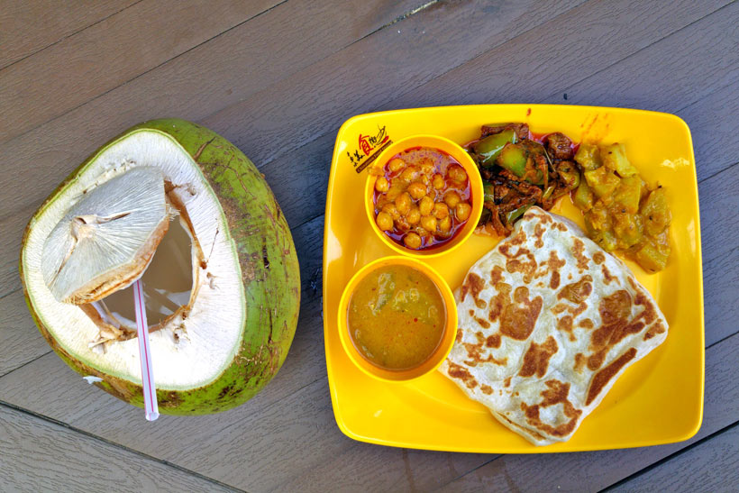 Indian Food at Satay by the Bay | Gardens by the Bay - Best Things to do and Places to see in Singapore's Wonder Park