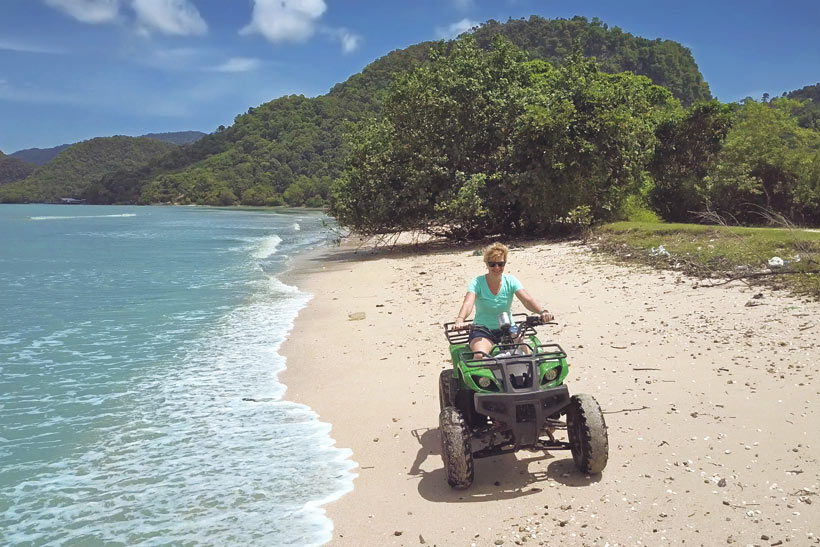 Fun ATV Ride in Pulau Tuba, near Langkawi Island, Malaysia - 10 Luxury and Adventurous Things to do | via @Just1WayTicket