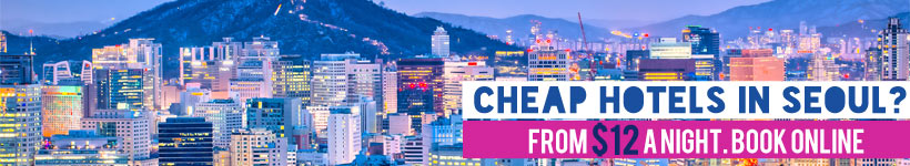 Cheap Hotels In Seoul, South Korea