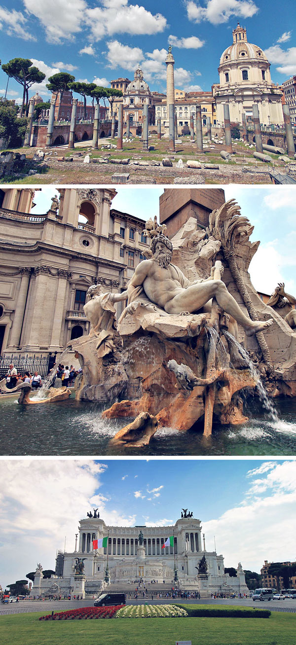 Rome | Things to do and How to Travel Italy by Train | via @Just1WayTicket