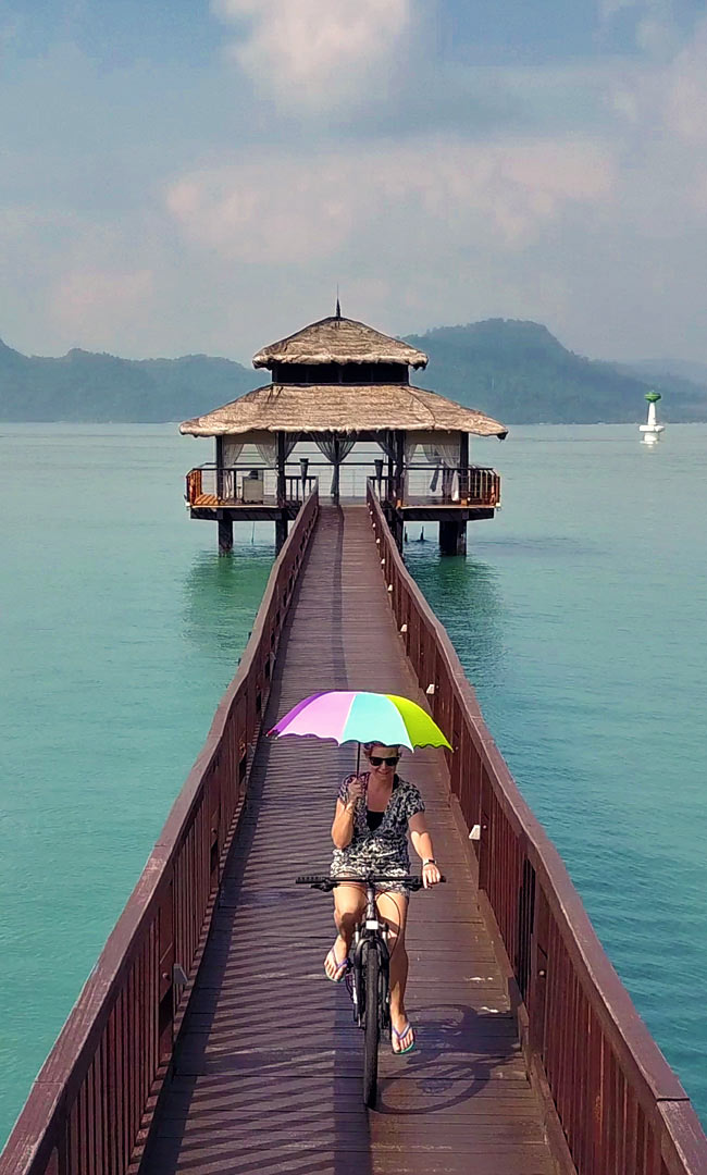 Walking Bridge at the Westin Resort and Spa in Langkawi Island, Malaysia - 10 Luxury and Adventurous Things to do | via @Just1WayTicket