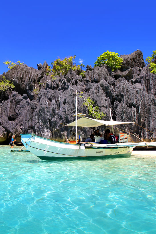 Beach near Coron, Palawan | Coron Or El Nido? Which One Is Really Better? | A Travel Guide to Philippines Last Frontier | via @Just1WayTicket