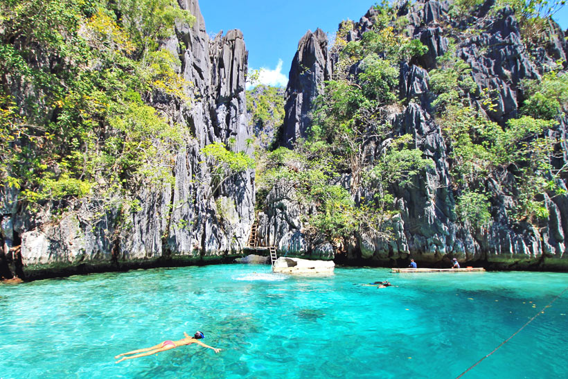 Twin Lagoon Coron | Top 10 Things to do in the Philippines | via @Just1WayTicket