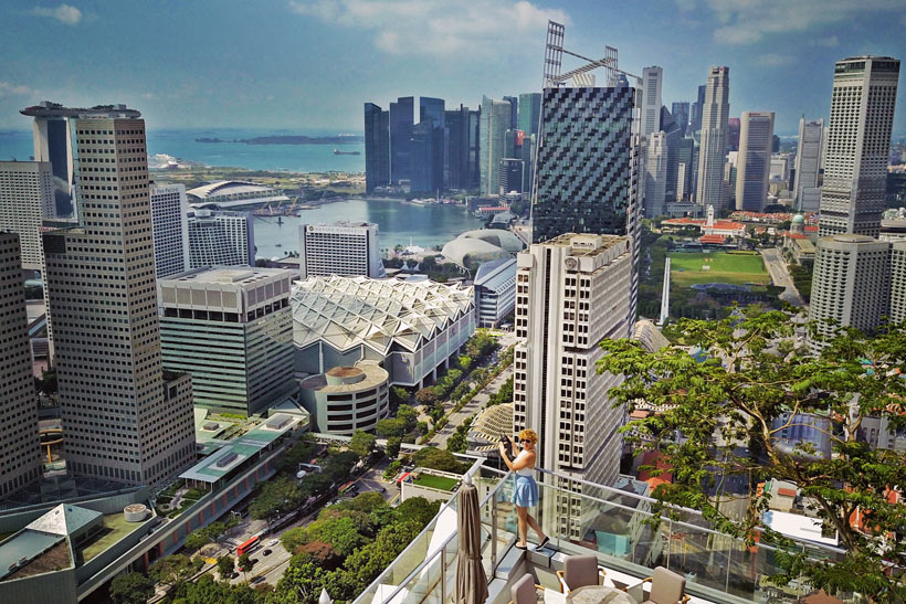 Rooftop views at Andaz Hotel Singapore | Best Places to Visit in Singapore in 3 Days | Things to do in Singapore | #AndazSingapore #Andaz #singapore #SG #travel