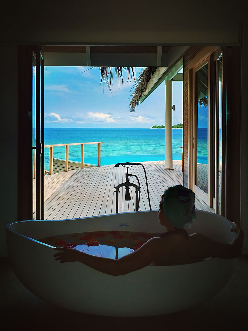 Water Pool Villa at Milaidhoo Island, Maldives - The Ultimate Luxury Escape For Dreamers | Hotel Review by JustOneWayTicket