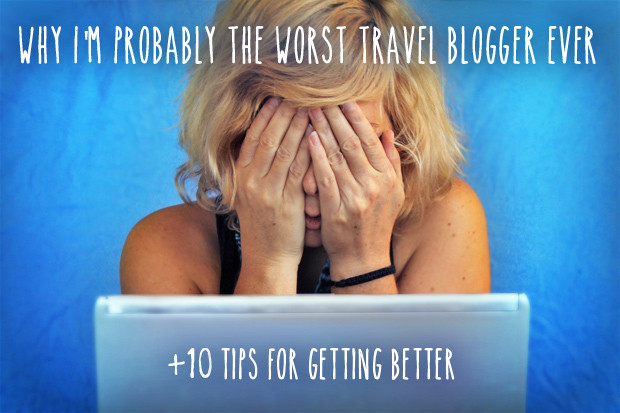 Why I'm probably the worst travel blogger ever (+ 10 tips for getting better) - Myself, getting a freaking headache! Istanbul, Turkey 2013 © Sabrina Iovino | JustOneWayTicket.com