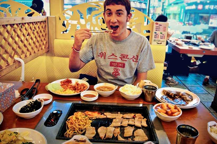 10 Amazing Things To Do In Seoul, South Korea: Korean BBQ © Drew Goldberg | TheHungryPartier.com