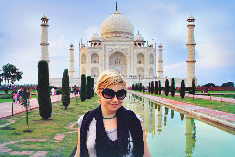 Taj Mahal Agra | Best Places To Visit In India Plus Things To Do | via @Just1WayTicket | Photo © JustOneWayTicket