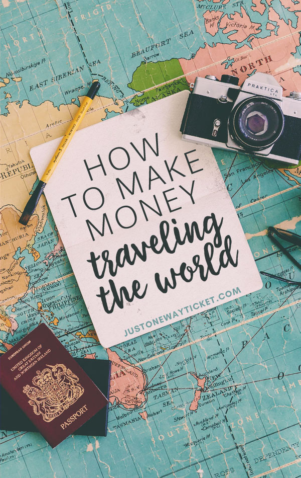 How to make Money Traveling the World | You want to work and travel? Here are the best traveling jobs in the world