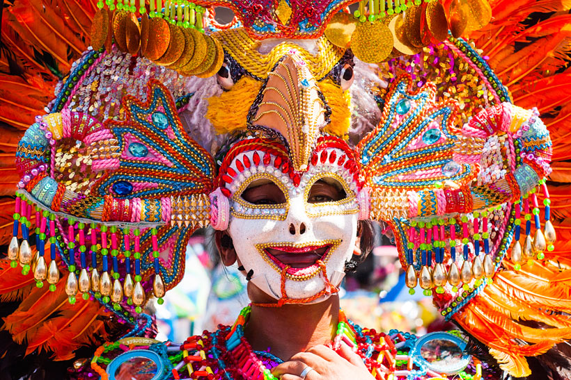 Masskara Festival | Top 10 Things to do in the Philippines | via @Just1WayTicket