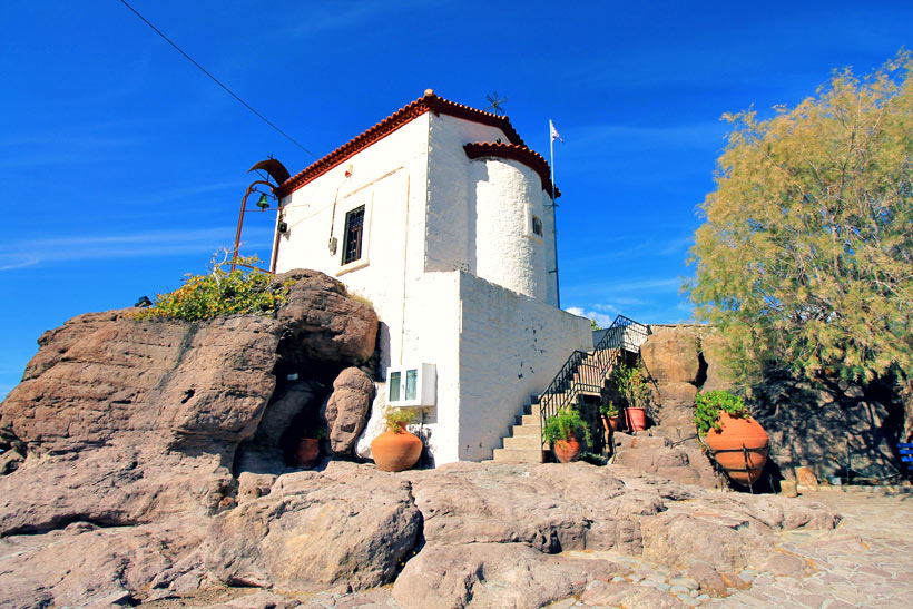 The Church Panagia Gorgona in Sykaminea   10 Places You Must Visit In Lesvos Island Greece   via @Just1WayTicket