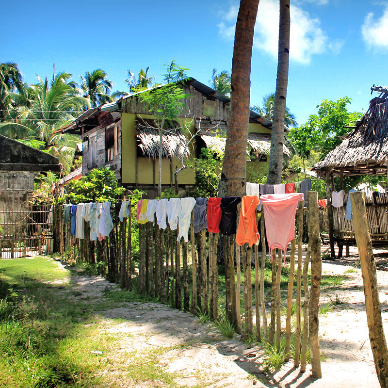 Local villages in Siargao, Philippines © Sabrina Iovino | via @Just1WayTicket