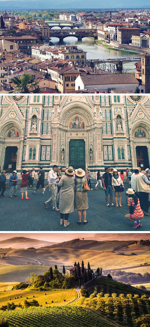 Florence | Things to do and How to Travel Italy by Train | via @Just1WayTicket