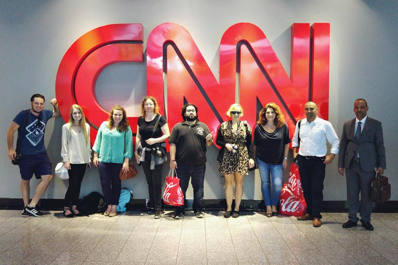 CNN Center | 8 Fun Things to do in Atlanta | Travel City Guide | via @Just1WayTicket