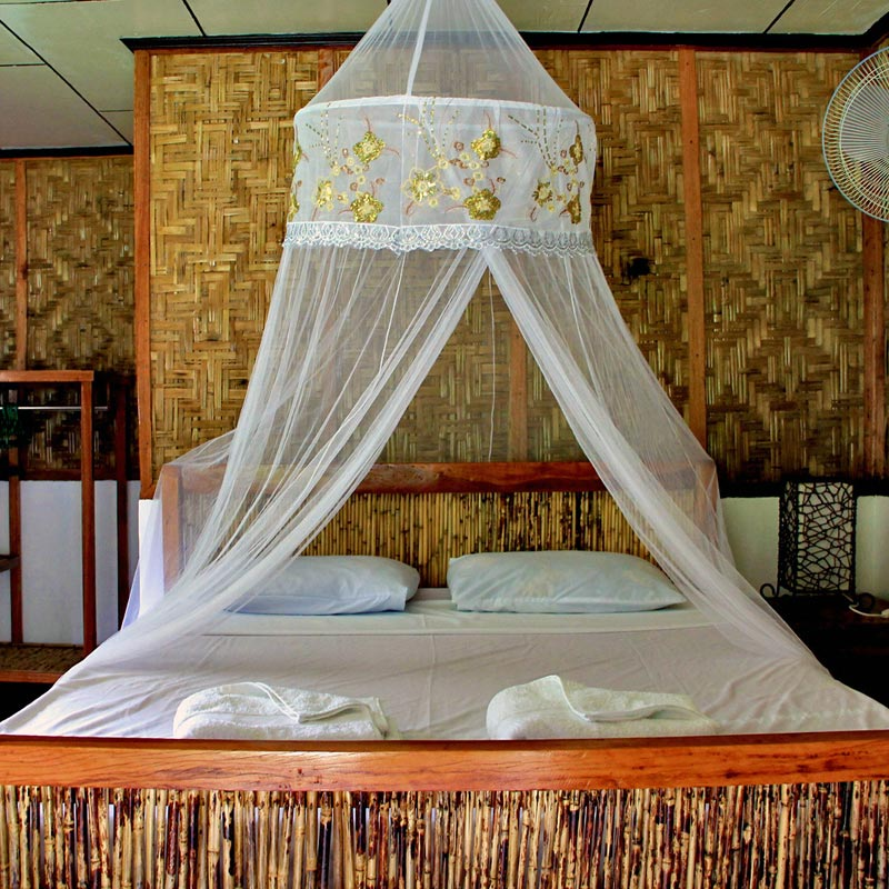 The rooms at Kermit Surf & Dive EcoCamp in Siargao, Philippines © Sabrina Iovino | via @Just1WayTicket