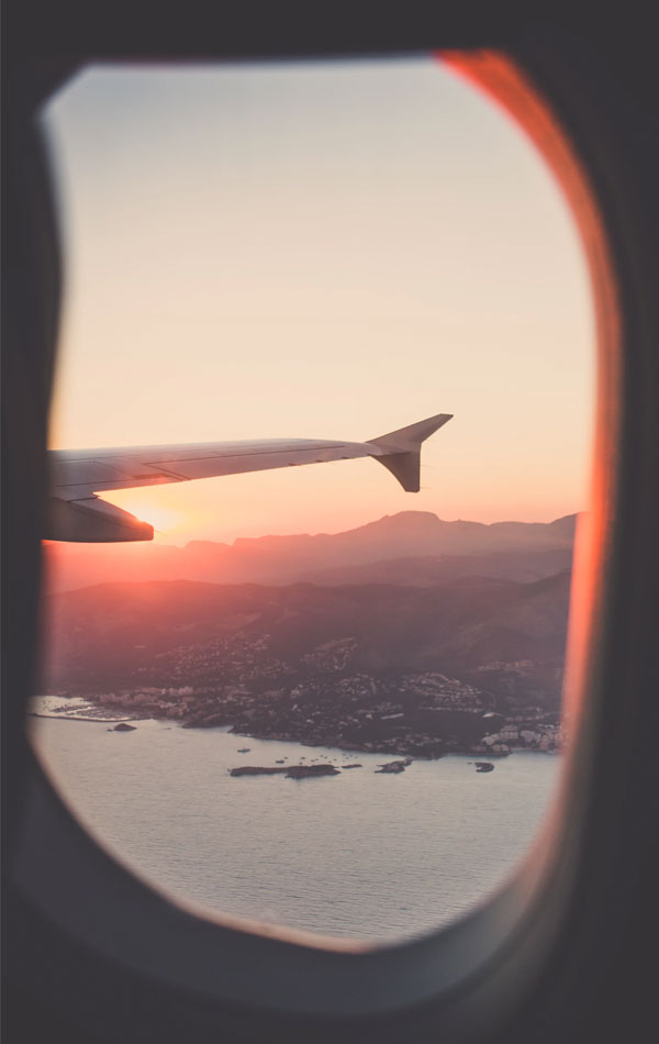 View from the Airplane | Where to find cheap flights?
