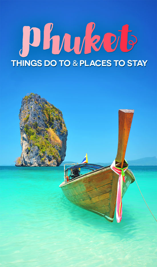 Island Hopping | Travel Guide To Phuket: Things To Do in Phuket And Places To Stay | Phuket offers natural beauty, rich culture, white beaches, tropical islands and plenty of adventure activities | via @Just1WayTicket | Photo © erandalx/Depositphotos