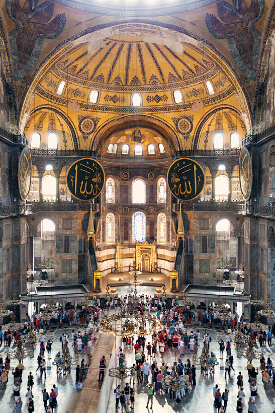 Hagia Sophia Sultanahmet | Istanbul Travel Guide - Awesome Things to do, Best Restaurants and Cool Places to Stay | via @Just1WayTicket | Photo © saiko3p/Depositphotos
