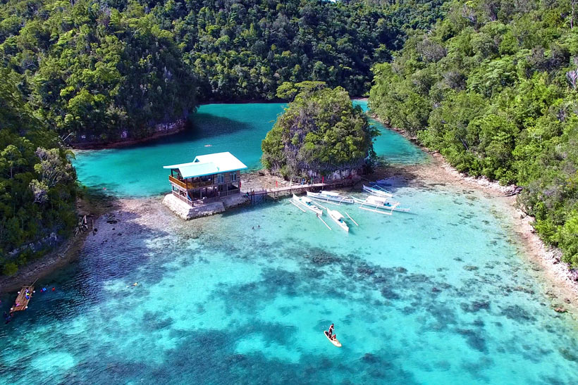 Sugba Lagoon near Siargao | Siargao Island | The Ultimate Guide To Siargao In The Philippines - For Non Surfers © Sabrina Iovino | #Siargao #Philippines #surfing #travel