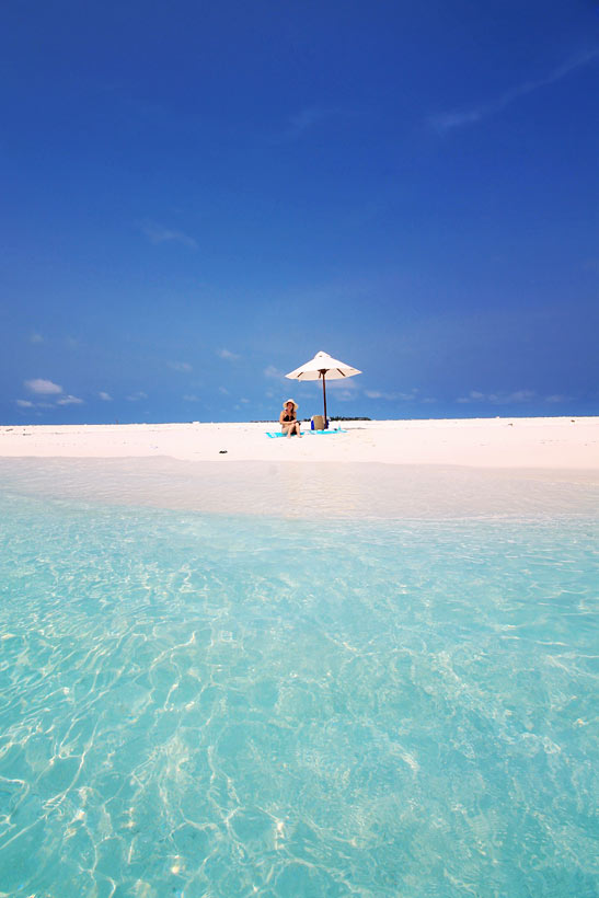 Sandbank near Milaidhoo Island, Maldives - The Ultimate Luxury Escape For Dreamers | Hotel Review by JustOneWayTicket