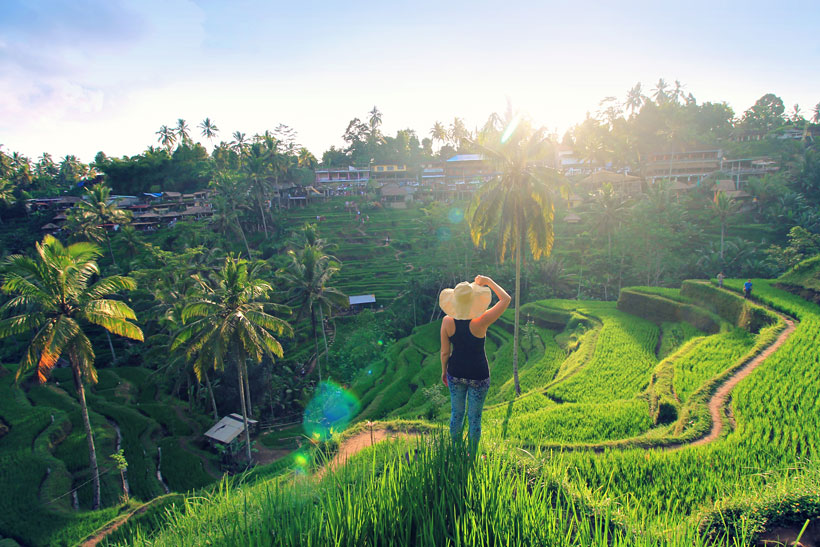 Tegallalang Rice Terraces | 10 Awesome Things to do in Ubud, Bali | Travel Guide to Ubud