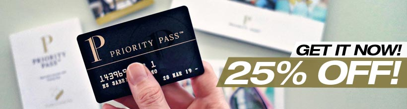 Priority Pass - Get 25% OFF now!