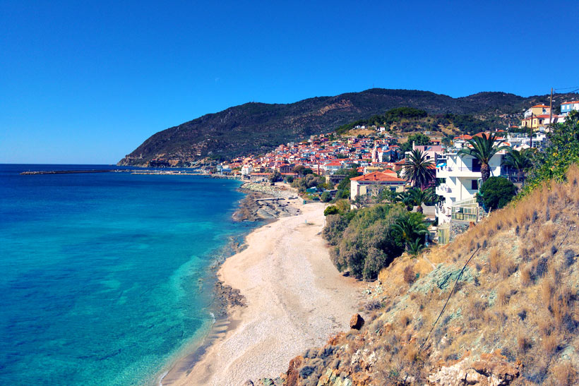 Plomari | 10 Places You Must Visit In Lesvos Island Greece | via @Just1WayTicket