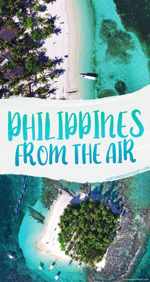 Philippines From A Bird's Eye View | These aerial photos will tickle your wanderlust, inspire you to get a drone, travel to the Philippines, and capture a few of the 7000 stunningly beautiful islands and beaches... | via @Just1WayTicket
