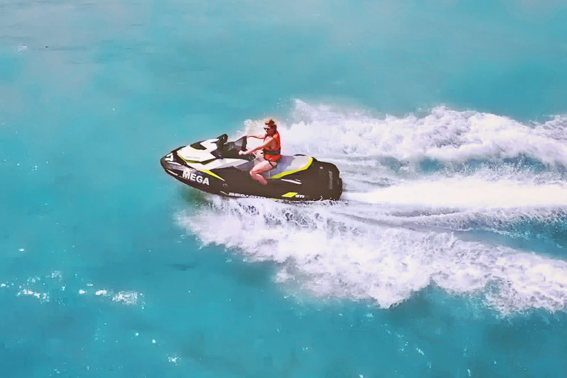 Jetski with Megasports in Langkawi | Hotel Review: Casa del Mar Langkawi - A Peaceful Retreat that makes you feel like Home