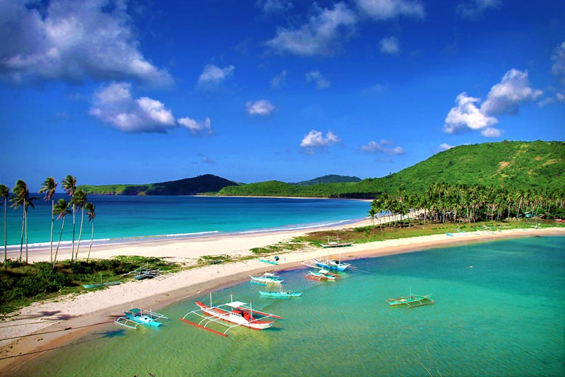 Nacpan and Calitang Beach, North of El Nido, Palawan, Philippines © Sabrina Iovino | @Just1WayTicket