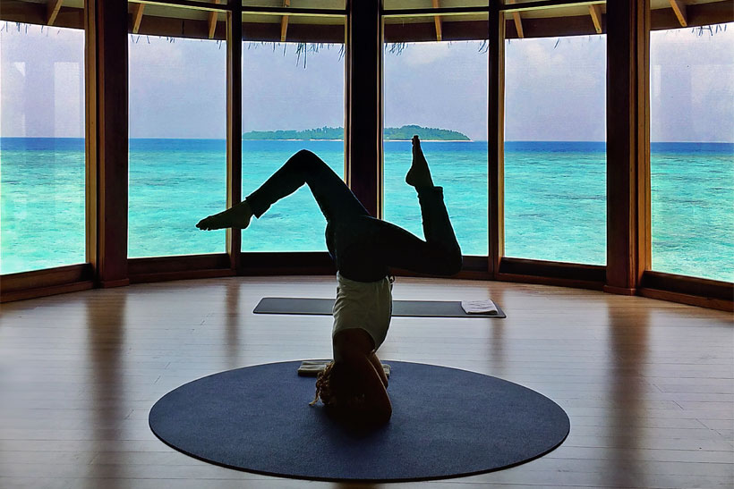 Yoga at Milaidhoo Island, Maldives - The Ultimate Luxury Escape For Dreamers | Hotel Review by JustOneWayTicket