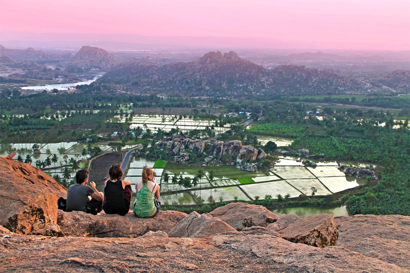I want to travel the world for the rest of my life - 15 Travel Bloggers tell how to do it... Photo taken in Hampi, Karnataka, India. 2013 © Sabrina Iovino | JustOneWayTicket.com