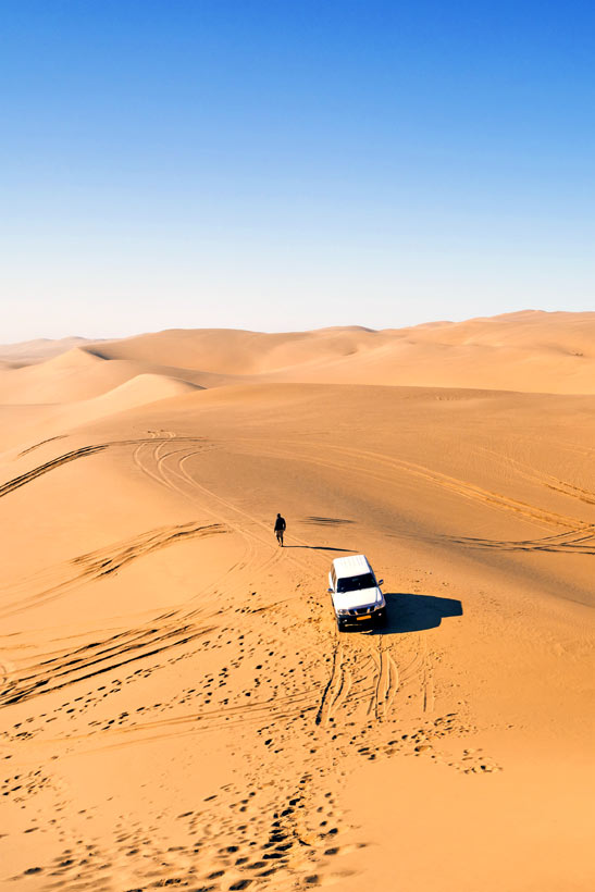 Swakopmund Desert | Travel Guide To Namibia - Things To Do And Places To Stay | via @Just1WayTicket