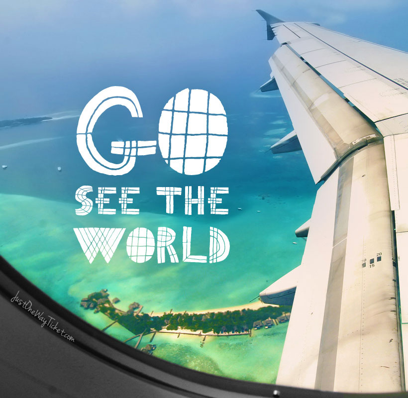 Go See The World! | The Best Travel Jobs | 50 Ways To Make Money While Traveling The World | You want to work and travel? Pack your bags! Here is the most extensive list of the best traveling jobs in the world | via @Just1WayTicket