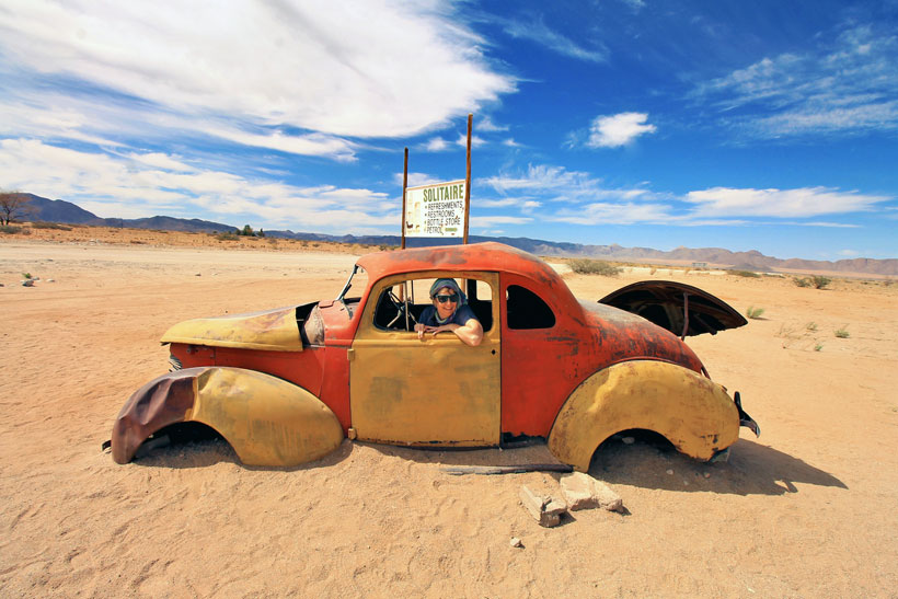 Abandoned Cars in Solitaire | Travel Guide To Namibia - Things To Do And Places To Stay | via @Just1WayTicket