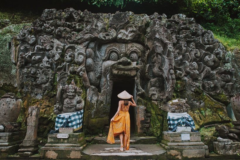 Goa Gajah Elephant Cave Ubud Bali | 10 Awesome Things to do in Ubud, Bali | Travel Guide to Ubud