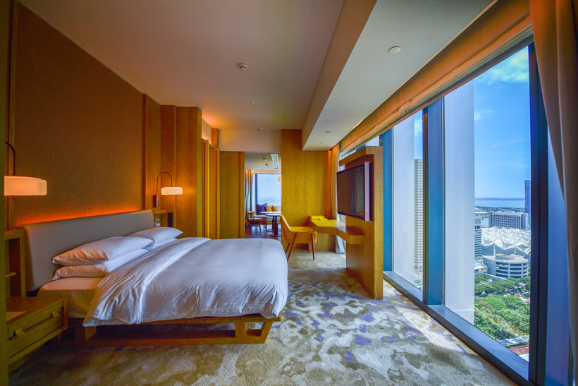 Corner Suite at Andaz Hotel Singapore | Best Places to Visit in Singapore in 3 Days | Things to do in Singapore | #AndazSingapore #Andaz #singapore #SG #travel