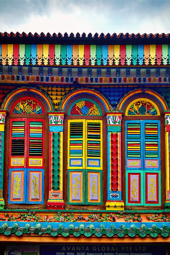 Colorful Houses in Little India | Best Places to Visit in Singapore in 3 Days | Things to do in Singapore | #singapore #SG #travel #littleindia