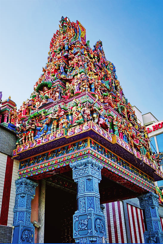 Sri Veeramakaliamman Temple in Little India | Best Places to Visit in Singapore in 3 Days | Things to do in Singapore | #singapore #SG #travel #littleindia