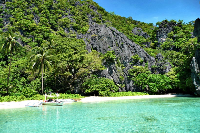 Hidden Beach, El Nido, Palawan, Philippines © Sabrina Iovino | @Just1WayTicket