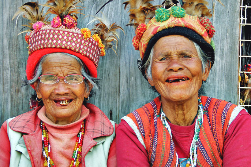 10 Reasons why you should travel to the Philippines... Photo: Locals in Banaue. Philippines 2013 © Sabrina Iovino | JustOneWayTicket.com