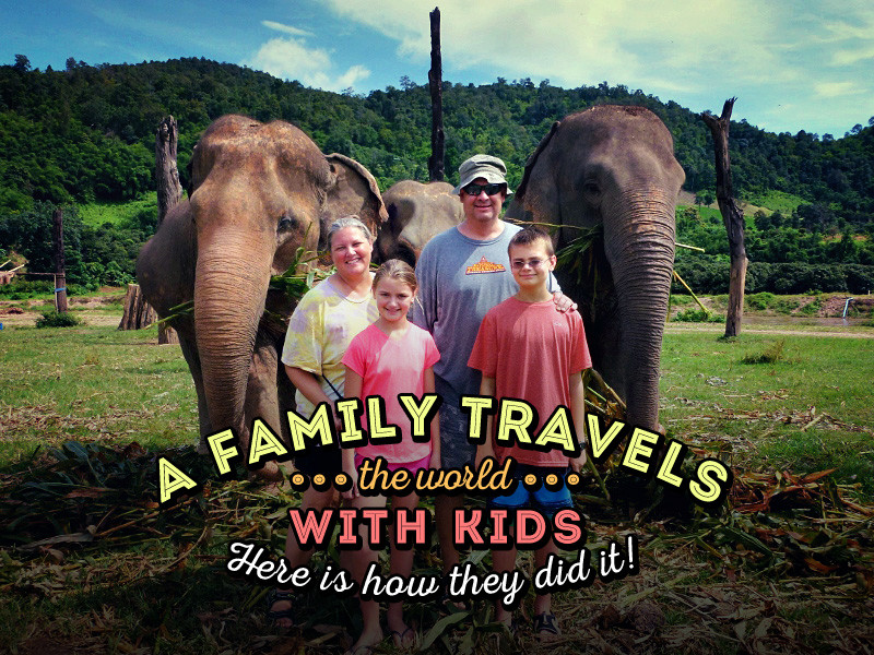 A Family Travels Around The World With Kids For 3 Years - Here Is How They Did It! | via @Just1WayTicket