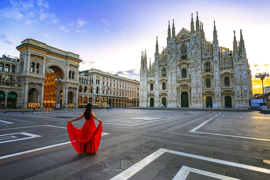 Milan | How to Travel Italy by Train - A First-Timer's Guide incl. things to do and places to stay | via @Just1WayTicket