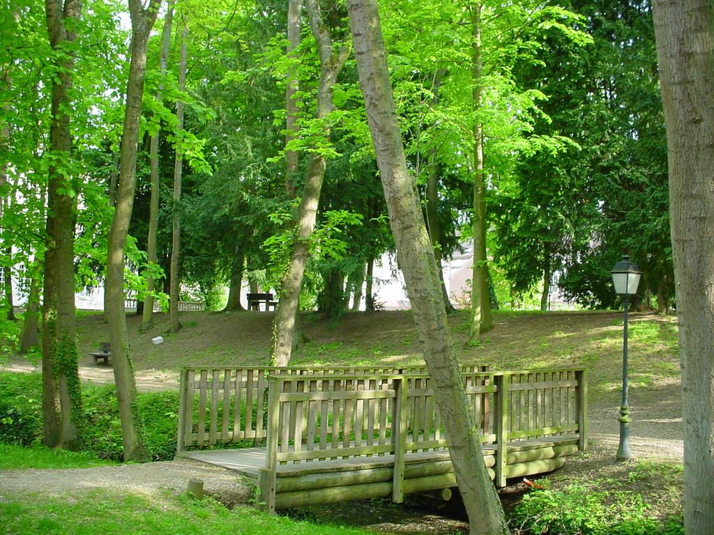 Town hall's park