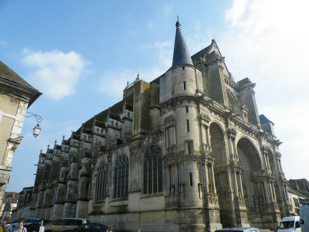 Notre Dame of assomption Church in Villeneuve-sur-Yonne