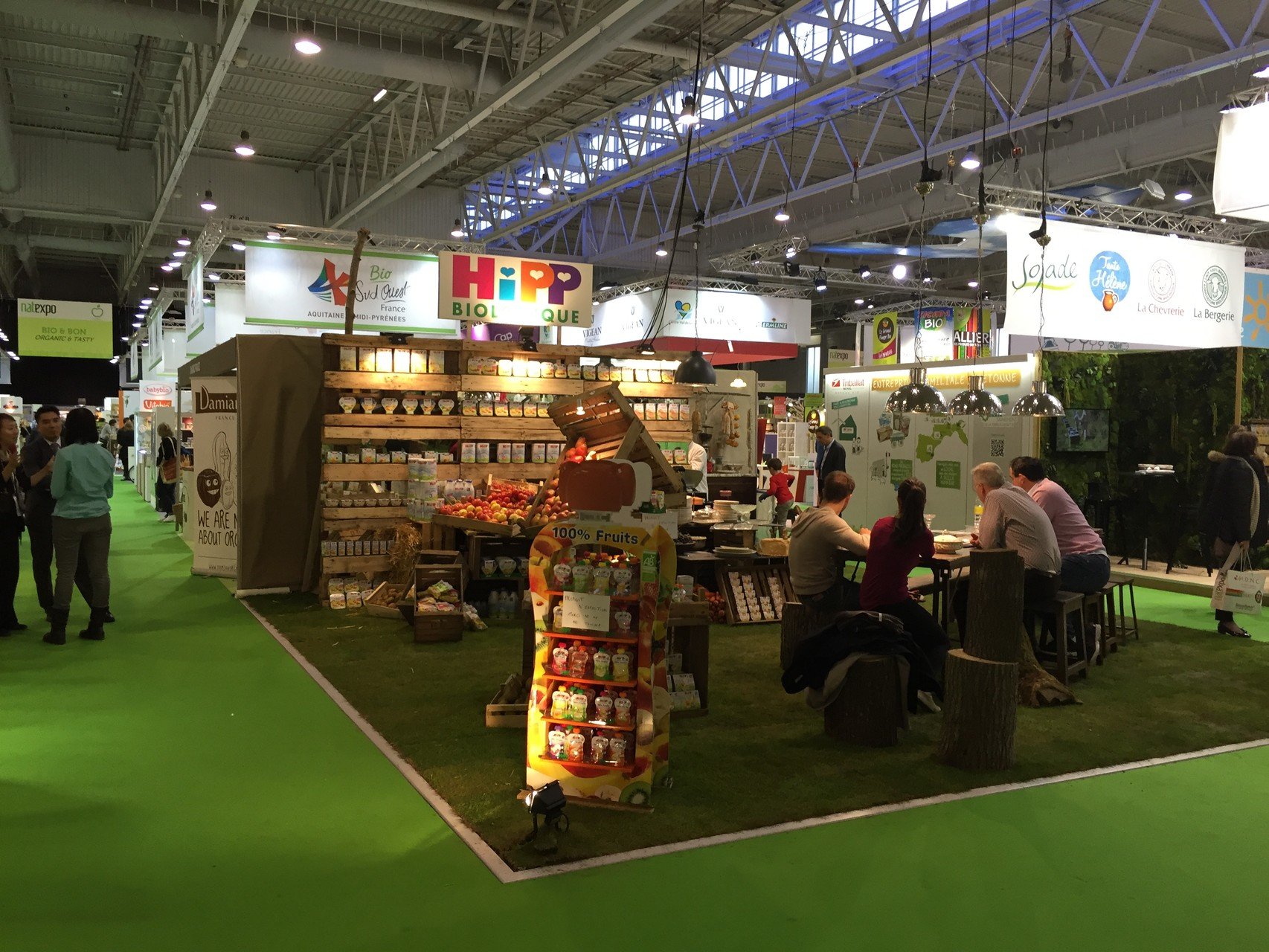 Le salon Bio Nat Expo 2015